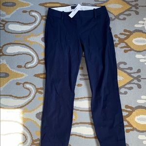 Navy stretch side zip Minnie pants. BRAND NEW